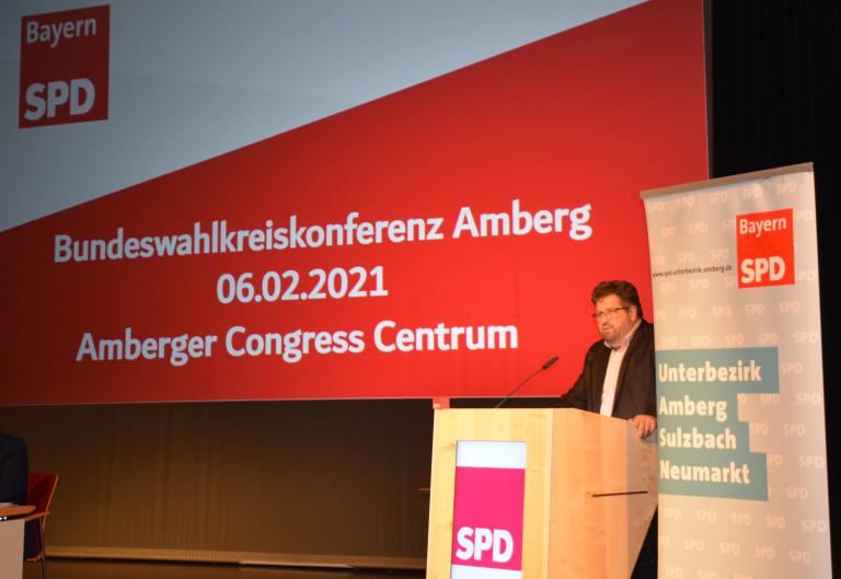 Wahlkreiskonferenz 06.02.2021 ACC Amberg